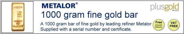 Gold Bar 1000