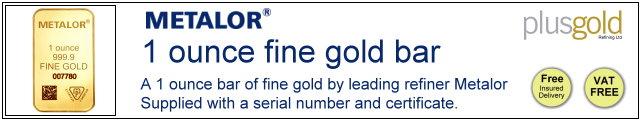 Gold Bar 1oz