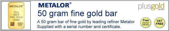 Gold Bar 50