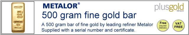 Gold Bar 500