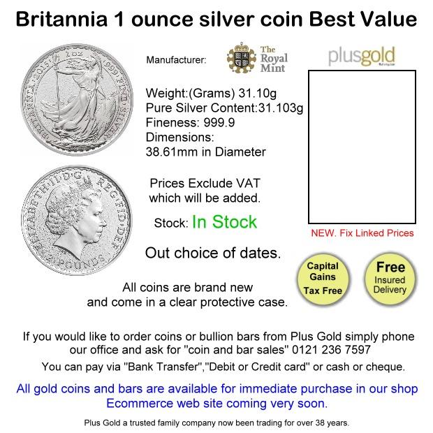 Britannia Silver Best Buy
